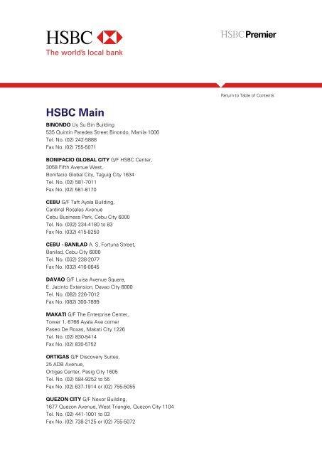 HSBC Mai