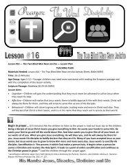 Lesson #16 — The Two Blind Men Near Jericho — Lesson Plan ...