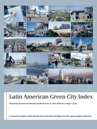 Study: Latin American Green City Index - Assessing the - Siemens
