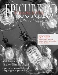 September/October 2010 - Epicurean Charlotte Food & Wine ...