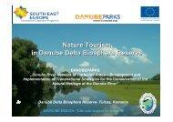 Soft Boat Tourism Danube-Delta - DANUBEPARKS