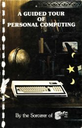 A Guided Tour to Personal Computing - The MESSUI Place