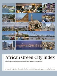 Study: African Green City Index - Assessing the ... - Siemens