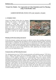 Virtual City Models - New Approaches in Urban Simulation and City ...