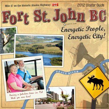 2012 Visitor Guide - City of Fort St. John