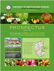 Download - University of Horticultural Sciences, Bagalkot