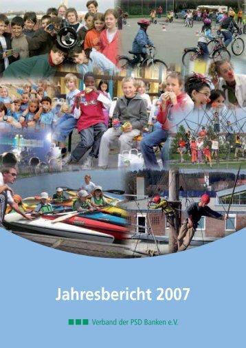 Jahresbericht 2007 - PSD Bank