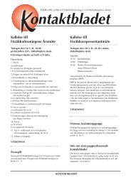 Vt 2006 - Föräldraföreningen vid Mälarhöjdens skola