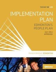 The Way We Live: Edmonton's People Plan ... - City of Edmonton