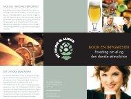 BOOK EN BRYGMESTER Foredrag om øl og den danske ølrevolution