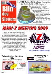 Mini-Z Meeting 2009 - SRC-Ostfriesland
