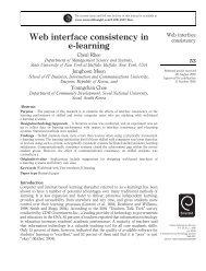 Web interface consistency in e-learning - i-Learn Portal – UiTM e ...