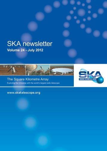SKA newsletter - The Square Kilometre Array