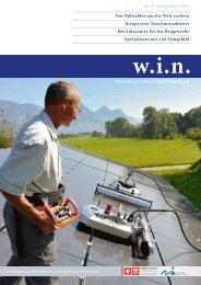w.i.n. Ausgabe 9 - Pro Wirtschaft Nidwalden/Engelberg