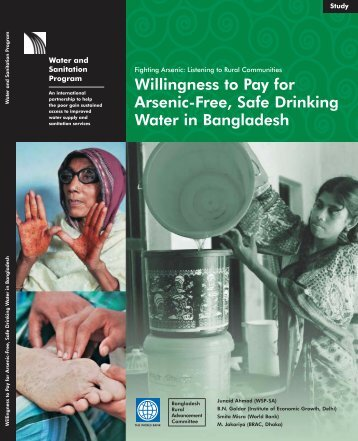 arsenic in drinking water Arsenic in drinking water arsenic is a naturally occurring element found in the earth's crust that is found most everywhere it occurs naturally in rocks and soil, water, air, and plants and animals trace amounts are found in all living matter.