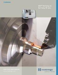 QUEST® Multi-Tasking and Hard Turning CNC Lathes - Hardinge Inc.