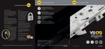 6 Page A4 - Yale Door and Window Solutions, Locks Home Security ...