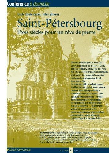 Saint-Pétersbourg - Arts et Vie