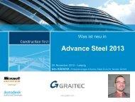 Advance Steel 2013 – AdvanceCAD - Graitec