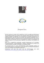2006-1 European News - Deutsches Forum für Kriminalprävention