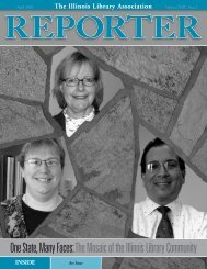Reporter (Page 1) - Illinois Library Association