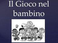 Il Gioco nel bambino - G. Veronese