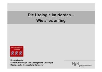 Die Urologie im Norden – Wie alles anfing - Vereinigung ...