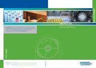 Technical Datasheet - Verderflex