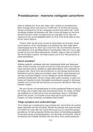 Prostatacancer - Scientific Communication AB