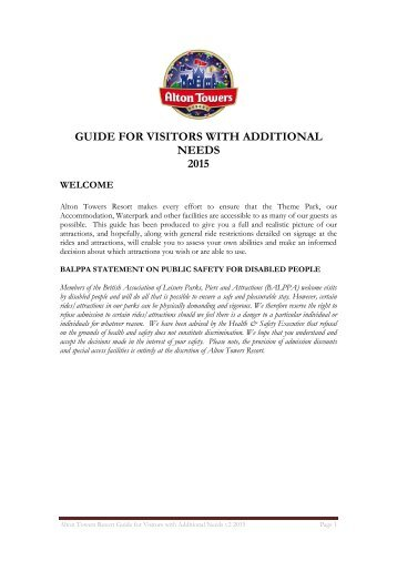 guide-for-visitors-with-additional-needs-2015-v2
