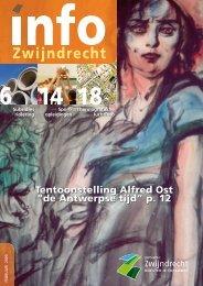Tentoonstelling Alfred Ost - Gemeente Zwijndrecht