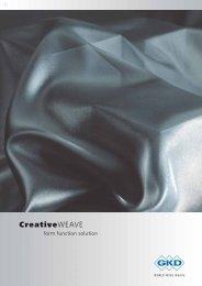 Digitale Broschüre Creativeweave [PDF] - Projekt 4B, Stuttgart