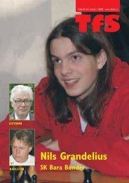 Tidskrift för Schack 2008 - Sveriges Schackförbund