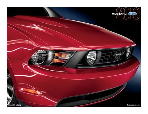 2010 Ford Mustang Specs Lite