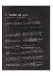 A Wake-up Call - Abhikram