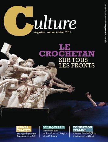 Cul3 culture Novembre 2011 : Culture : 1 : Page 01