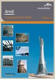 Composite floor decks