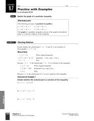 Practice Worksheet with Examples.
