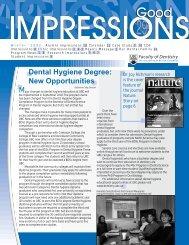 Winter (Issue 29) - UBC Dentistry - University of British Columbia