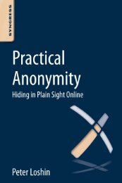 Practical Anonymity Hiding in Plain Sight Online