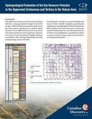 Evaluation of Vulcan Area Brochure - Canadian Discovery Ltd.