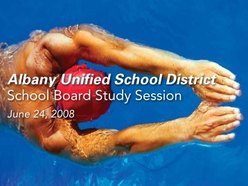 Albany062308 - Albany Unified School District