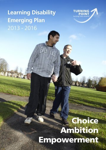 Learning Disability Emerging Plan - Turning Point