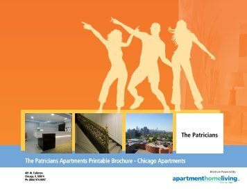 The Patricians Apartments Printable Brochure - Apartments For Rent