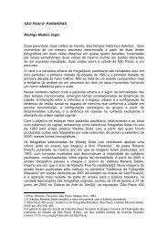 SÃO PAULO: PARANÓIAS Rodrigo Medina Zagni ... - Diversitas - USP