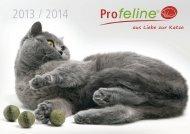 Profeline Katzenshop und Katzen Kratzbaum System