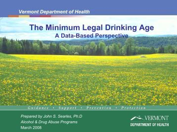 An introduction to the mlda minimum legal drinking age