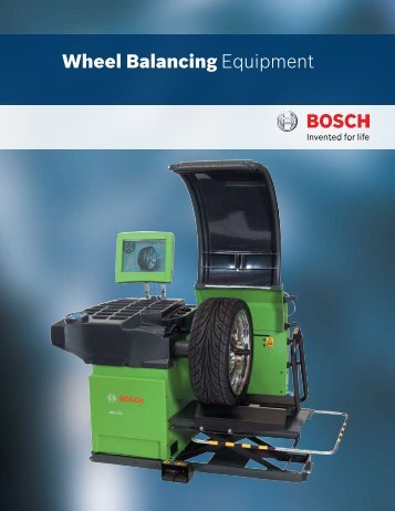Wheel Balancing Equipment - aesco