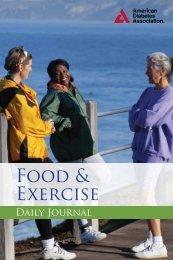 FooD & EXERCISE - American Diabetes Association