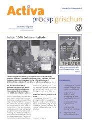 1 Beraterin/Berater - Procap Grischun